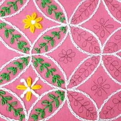 Great Photographs kantha embroidery designs Popular Such embroidery designs remain some of the most sought after items even today! Embroidery Neck Designs, Hand Embroidery Videos, Hand Embroidery Flowers, Embroidery Stitches Tutorial, Embroidery Works, Creative Embroidery, Learn Embroidery, Crewel Embroidery, Hand Embroidery Patterns