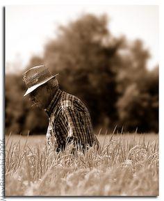Rice farmer, Italy