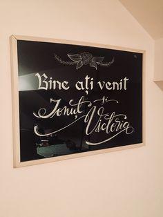 Tablou miri Bine ati venit ❤️ Chalkboard Quotes, Art Quotes, Weddings, Wedding, Marriage