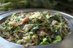 Smothered Collard Greens and Cabbage Vegetarian Barbecue, Barbecue Recipes, Vegetarian Cooking, Vegetarian Recipes, Italian Cooking, Oven Recipes, Easy Cooking, Cooking Tips, Easy Recipes