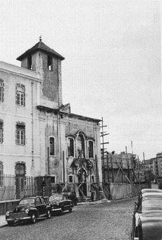 Blog sobre Lisboa onde se compara fotografias antigas com a actualidade