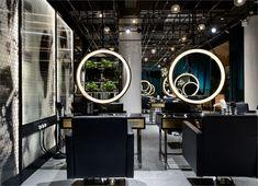 S5 Design上瑞元筑荣获香港A&D Trophy Awards设计大奖-11 Hair Salon Interior, Salon Interior Design, Interior Design Inspiration, Beauty Salon Decor, Beauty Salon Design, Salon Equipment, The Beauty Department, Makeup Salon, Hair Shop