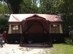 cabin tent ~ very roomy & Embark 9 Person Cabin Tent With Screen Porch - 14u0027x15u0027.Opens in a ...