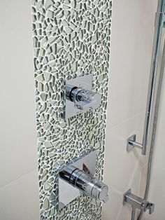 Vertical decoration. Bathroom Tiles for Every Budget and Design Style : Rooms : Home & Garden Television