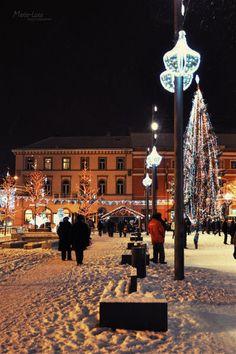 Christmas in Cluj-Napoca City, Romania