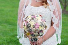Custom Made Brooch Wedding Bouquet You by SamanthaJaneBridal