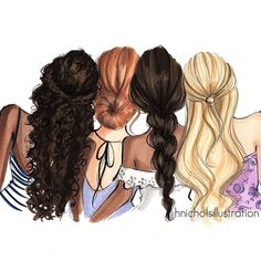 Drawing of girls friends bff 38 Ideas Girly M, Best Friend Drawings, Girly Drawings, Cute Drawings Of Girls, Best Friend Sketches, Best Friend Pictures, Bff Pictures, Friend Pics, Girl Best Friend Quotes