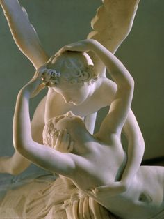 Antonio Canova, Psyche Revived by Cupid's Kiss, commissioned 1787