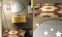 Encaustic cement tiles manufacturer, traditional European floor tiles from the XX century. Mosaic Tiles