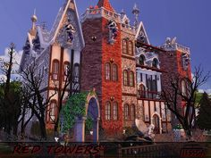 Sims 4 CC's - The Best: Houses by Nessca