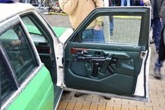 car door rifle storage