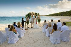 Wedding ceremony - Shandrani Resort & Spa - Mauritius