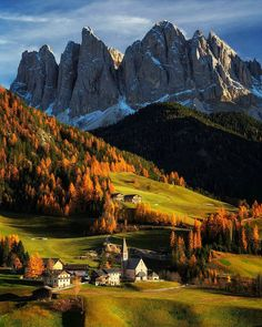 """awesome.earth: """"Val di Funes Dolomites Italy  Photo by @andrealivieriphoto check out his feed for more"""""""