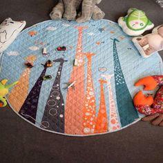 Activity & Gear Industrious Ins Kids Car Storage Mat Baby Gyms Play Mat Floor Mats Round Childrens Climbing Beach Toys Storage Bag Outdoor Picnic Mat Mother & Kids