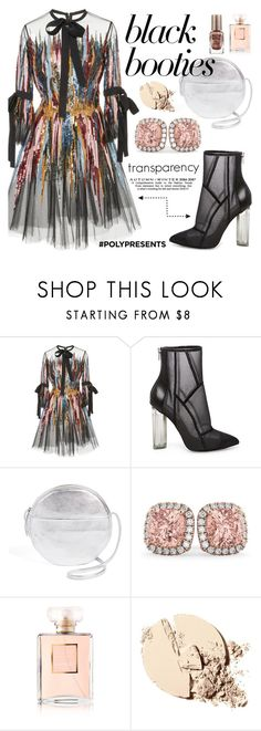 """""""TRANSPARENCY"""" by soluther on Polyvore featuring moda, Elie Saab, Steve Madden, BAGGU, Allurez, Chanel e Barry M"""