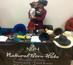 Bring your daughter to work day  #nbh #naturalbornhats #satinlinedhats  1214 South St.  We're here until 6  by blaireee__
