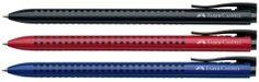 Faber-Castell Στυλό Διαρκείας Grip 2022.  Στυλό Διαρκείας Grip 2022 με εργονομικό τριγωνικό σχήμα και μαλακή λαβή.Διατίθεται στα 3 βασικά χρώματα.