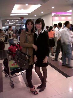 MY MOM & MY SISTER