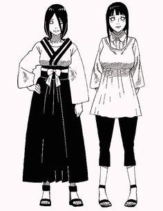 Hinata e Hanabi Hinata Hyuga, Naruhina, Naruto Uzumaki, Naruto Oc, Naruto Girls, Gaara, Itachi, Anime Naruto, Arte Fairy Tail