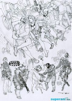 無草稿插畫(漫畫)家《金政基》在他身上沒有砍掉重練這種事