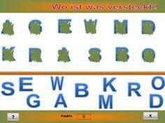 Buchstaben erkennen, optische Differenzierung Dyscalculia, Dyslexia, Differentiation, Letters, Studying, Kids