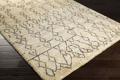 Casablanca Area Rug | Brown Natural Fiber and Texture Rugs Hand Knotted | Style CSB7000