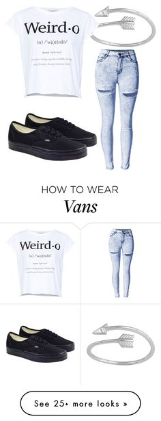 """Untitled #615"" by dnoshka on Polyvore featuring moda, Pull&Bear y Vans"
