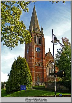 St. Michael's, Lyndhurst, Hampshire, UK. Kathryn Beaumont, the voice of  Disney's Alice in Wonderland, is buried here