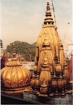 Kashi Vishawanath Temple, probably the only place where temple and mosque stand side by side.
