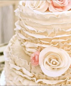not sure about the pink...looks too peachy, but cake pretty  @Cassandra Dowman Eyler