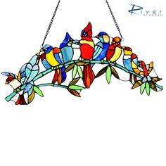 Don't Miss this week's River of Goods flash sale item on No More Rack! Supplies Limited!  http://www.nomorerack.com/daily_deals/view/1104951-birds_on_a_branch_stained_glass_13__window_panel