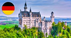 Neuschwanstein Castle, in Germany, is one of the greatest castles in Europe - and one of the world's foremost tourist attractions. Part theatre, part fairytale, Neuschwanstein Castle embodies the s. Places In Europe, Places Around The World, Places To See, Around The Worlds, Beautiful Castles, Beautiful Fairies, Wallpaper 3840x2160, Lago Baikal, Black Castle