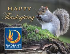 Radiant Engineering wishes a safe and happy Thanksgiving holiday for everyone! #thanksgiving