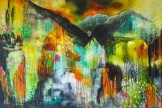 """""""Taking Flight"""" Acrylic on Canvas"""