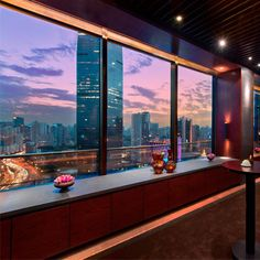 Shanghai skylines don't get much more impressive than this. See our favourite out-of-this-world-hotels at Redonline.co.uk