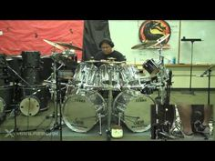 Highschool of the Dead 学園黙示録 HO.T.D. Anime Full Theme Drum Cover by Myron Carlos