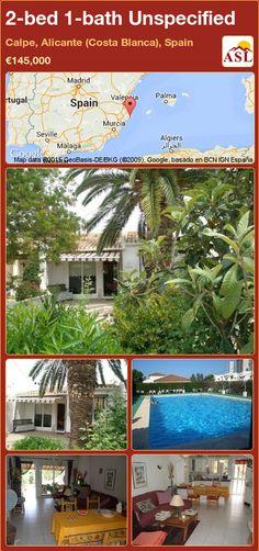 2-bed 1-bath Unspecified in Calpe, Alicante (Costa Blanca), Spain ►€145,000 #PropertyForSaleInSpain