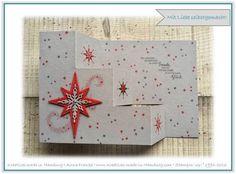 Kreatives made in Hamburg - Stampin' Up! - Treppenkarte / Weichnachten / Christmas / Weihnachtsstern - www.Kreatives-made-in-Hamburg.com