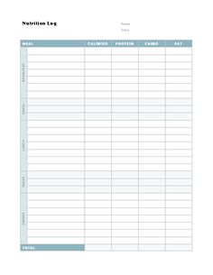 Document Log Template  Logtemplate