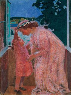 Maurice Denis (French, 1870-1943), The Crown of Daisies, c. 1905-06