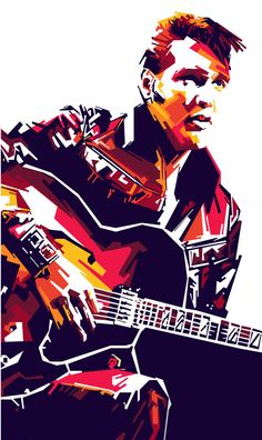 Elvis Presley in WPAP [Limited Colors] by on Devia ntArt Looks Rockabilly, Pop Art Pictures, Pop Art Portraits, Elvis Presley Photos, Art Friend, Rock Posters, Beatles, Rock N Roll, Photoshop