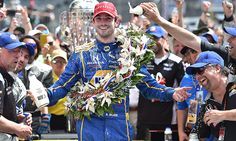 ROSSI STUNS WITH WIN IN 100TH RUNNING INDIANAPOLIS 500