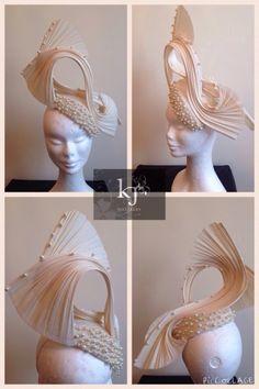 Pearl by K J Millinery  #millinery #hats #HatAcademy