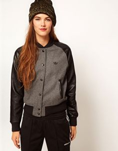 Adidas Jacket With Contrast Sleeves
