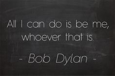 all i can do is be me, whoever that is #quotes