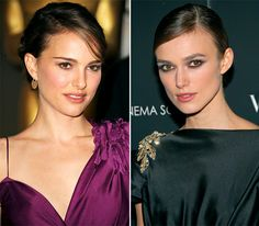 Celebrity Look-Alikes - Seeing double? Even the Hollywood elite have doppelgängers! Natalie Portman and Keira Knightley