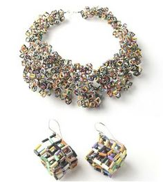 Recycled Trash made into Jewelry - The Beading Gem's Journal
