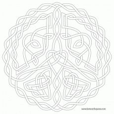 Celtic Mandala Coloring Pages » Fk coloring pages