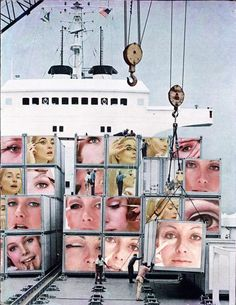 <b>Martha Rosler (1943–)</b><br>She works in video, photo-text, installation, and performance, as well as writing about art and culture. Rosler's work is centered on everyday life and the public sphere, often with an eye to women's experience. Recurrent concerns are the media and war, as well as architecture and the built environment, from housing and homelessness to systems of transport. <em>Cargo Cult</em>