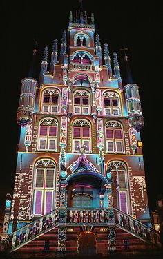Light Festival #Gouda (City Hall), The Netherlands. #greetingsfromnl